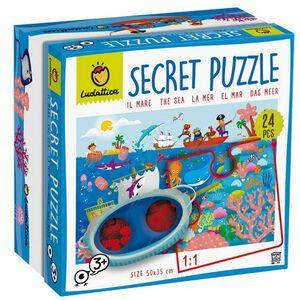 Ludattica - Puzzle Secreto del Mar 24 pcs