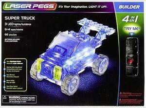 Super camión 4 en 1 Laser pegs