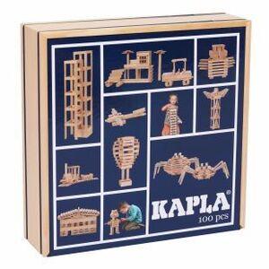 Kapla Caja madera 100 pzs