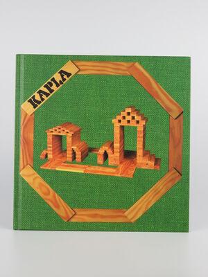Kapla Libro de Arte vol 3 (verde): nivel facil, arquitectura y estructuras