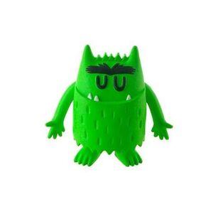 Figura verde Calma de Monstruo de colores
