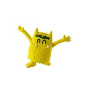Figura amarillo Alegria de monstruo de colores
