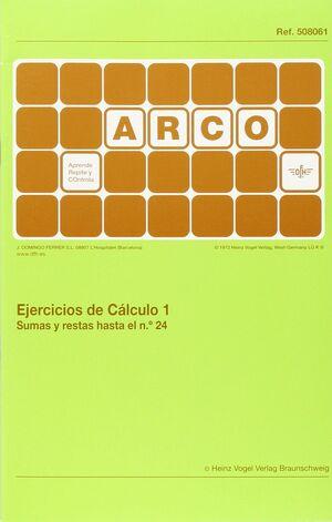 Arco - Ejercicios de cálculo 1. Sumas y restas hasta el n 24