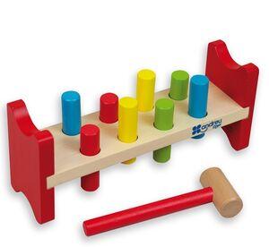 Andreu Toys - Banco pica colores madera