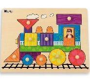 Andreu Toys - Puzzle encajable tren