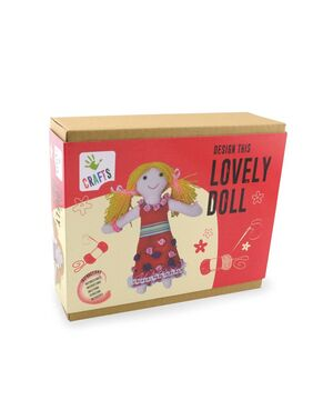 Diseña du muñeca de tela