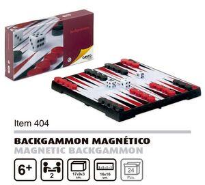 Backgammon magnético de viaje 17x9cm