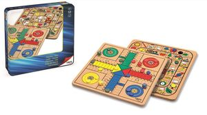 Metal Box parchis oca