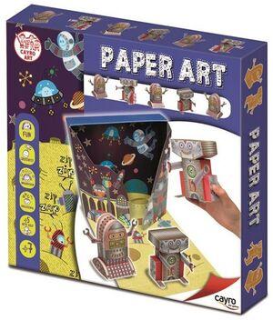 Cayro PaperArt Origami Robots con escenario