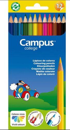 Lapices Campus 12 colores