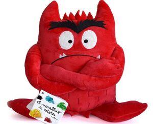 Monstruo de colores (peluche rojo)