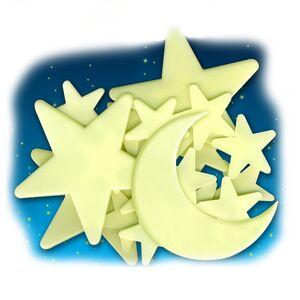 Eurekakids - estrellas fosforescentes techo con luna