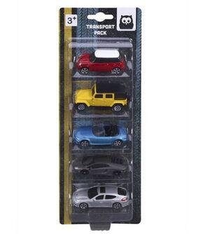 Eureka kids - Set 5 coches