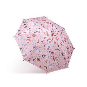Paraguas estampado coral