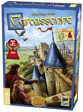Devir - Carcassonne básico
