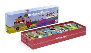 Londji - Bon Voyage Puzzle Progressive +2+3+4+5 (22pcs)