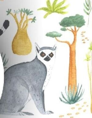 Londji- Lemur Kaleidoscope