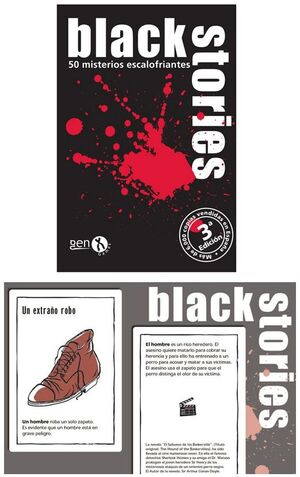 Gen X Games - Black Stories 1