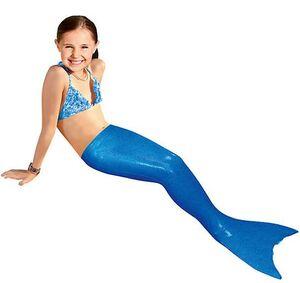 Aquatail - Cola de sirena talla S azul