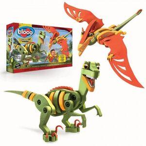 bloco - Velociraptor y Pterosaurio