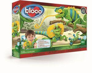 bloco - Lagartos y Camaleones 192 pcs