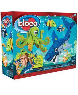 bloco - Criaturas Marinas 235 pcs