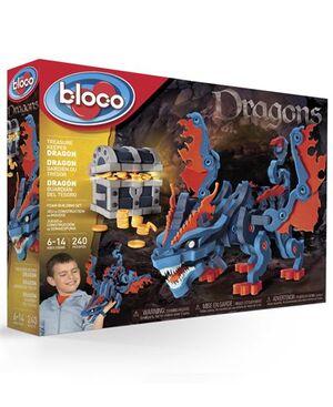 bloco - El Dragón del Tesoro 240 pcs