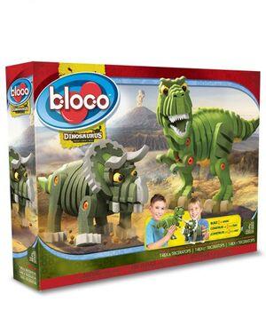 bloco - T-Rex y Triceratops