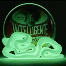 Plastilina Inteligente - Criptonita (fluorescente)