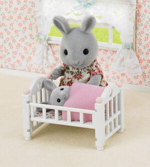 Sylvanian - Set cama bebe Cuna (set muebles)