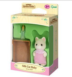 Sylvanian - Bebé Gato Seda