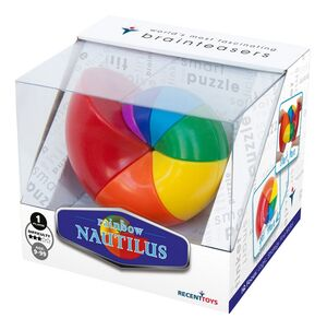 RecentToys - Nautilus Rainbow (Rubic's cube en forma de nautilus)