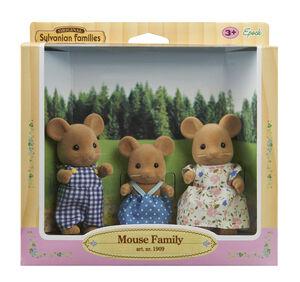 Sylvanian Families - Familia de 3 ratones