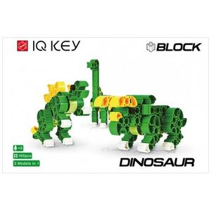 IQ KEY Block Dino 3x1 165pcs