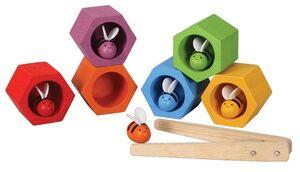 Plan Toys - Abejas en la colmena