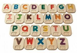 Plan toys - Alfabeto A-Z Braille