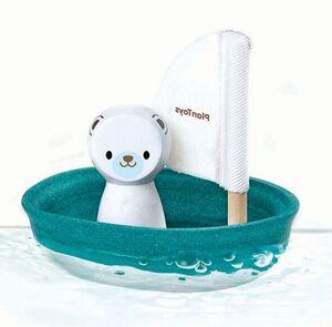 Plan Toys - Barquito Oso Polar