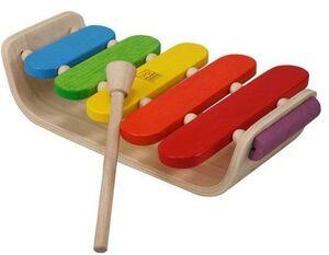 Plan Toys - Xilófono ovalado madrea