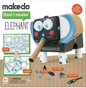 Makedo find&make Elefante