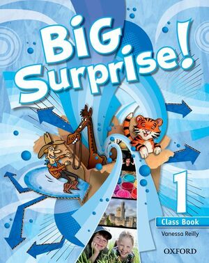 Big Surprise 1: Class Book and Multi-ROM Pack