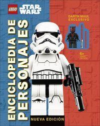 LEGO« STAR WARS ENCICLOPEDIA DE PERSONAJES NUEVA EDICION