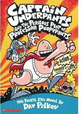 CAPTAIN UNDERPANTS PERILOUS PROFESSOR