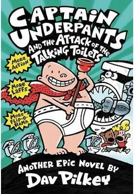 CAPTAIN UNDERPANTS ATTACK TALKING TOILET