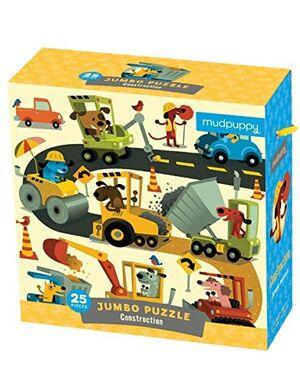 MUDPUPPY - PUZZLE GIGANTE CONSTRUCCIÓN 25 piezas