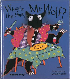 WHAT´S THE TIME, MR. WOLF? FINGER PUPPET BOOKS