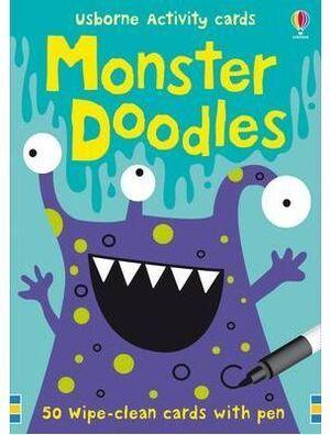 Monster Doodles (Usborne Activity Cards)