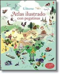 ATLAS ILUSTRADO CON PEGATINAS
