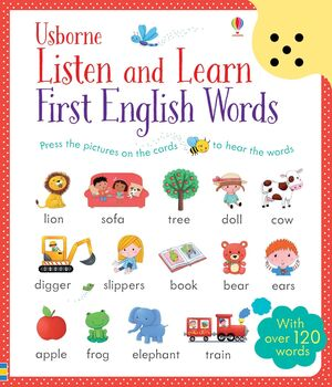 Listen and Learn. First English Words
