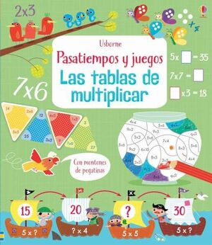 Tablas de multiplicar libros actividades
