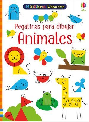 ANIMALES PEGATINAS PARA DIBUJAR